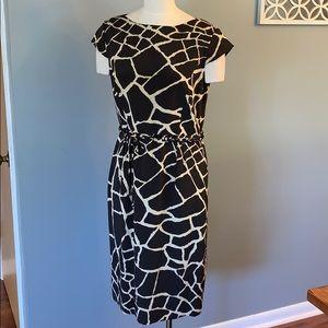 Carlisle women Giraffe print dress size 14